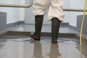 Boot disinfection